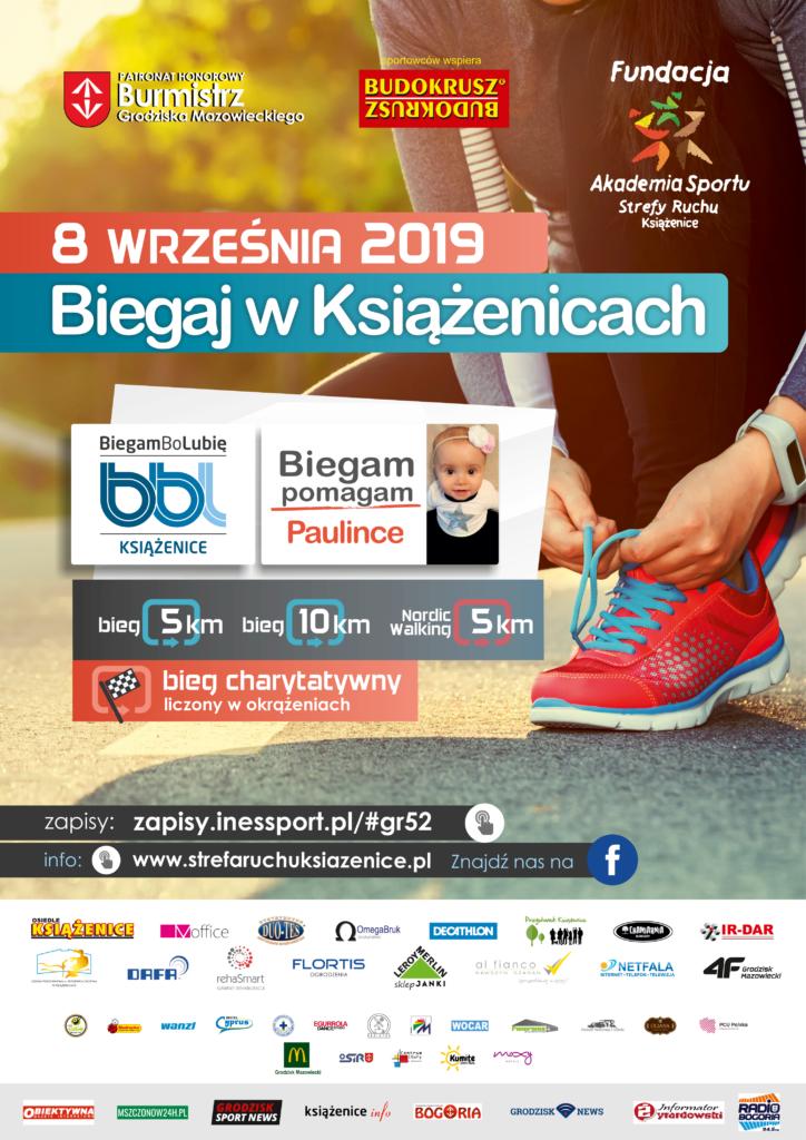 8 Września 2019 - Biegaj w Książenicach